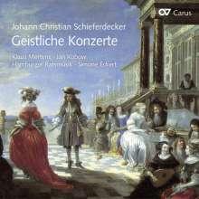 Johann Christian Schieferdecker (1679-1732): Geistliche Konzerte, CD