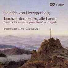 Heinrich von Herzogenberg (1843-1900): Geistliche Chormusik a cappella, CD
