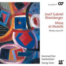 Josef Rheinberger (1839-1901): Messe a-moll op.197, CD