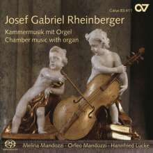 Josef Rheinberger (1839-1901): Suite für Violine,Cello & Orgel op.149, SACD