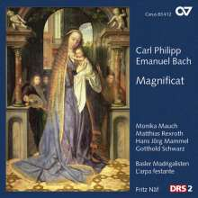 Carl Philipp Emanuel Bach (1714-1788): Magnificat (Frühfassung), Super Audio CD