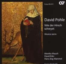 """David Pohle (1624-1695): Geistliche Musik """"Wie der Hirsch schreyet"""", CD"""