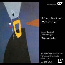 Josef Rheinberger (1839-1901): Requiem Es-Dur op.84, CD