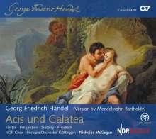 Georg Friedrich Händel (1685-1759): Acis und Galatea (in der Fassung Mendelssohns), SACD