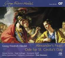 Georg Friedrich Händel (1685-1759): Alexander's Feast, 2 Super Audio CDs