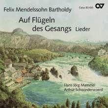 """Felix Mendelssohn Bartholdy (1809-1847): Lieder """"Auf Flügeln des Gesangs"""", CD"""