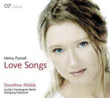 "Henry Purcell (1659-1695): Lieder ""Love Songs"", CD"