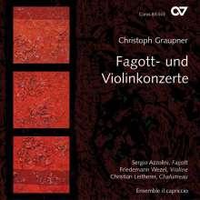 Christoph Graupner (1683-1760): Fagottkonzerte in C,c,G,B, CD