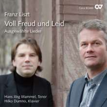 "Franz Liszt (1811-1886): Lieder ""Voll Freud und Leid"", CD"