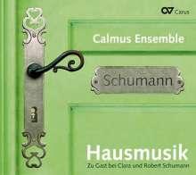 Calmus Ensemble - Hausmusik bei Clara & Robert Schumann, CD