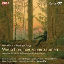 Heinrich von Herzogenberg (1843-1900): Weltliche Chormusik Vol.1, CD