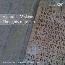 Vytautas Miskinis (geb. 1954): Thought of Psalms, CD