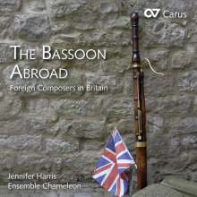 Jennifer Harris - The Bassoon Abroad (Foreign Composers in Britain), CD