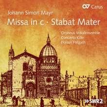 "Johann Simon (Giovanni Simone) Mayr (1763-1845): Missa c-moll ""Einsiedeln-Messe"", CD"