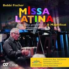Bobbi Fischer (geb. 1965): Missa Latina (2016) für Sopran, Chor, Jazzcombo, CD