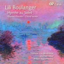 """Lili Boulanger (1893-1918): Chorwerke """"Hymne au Soleil"""", CD"""