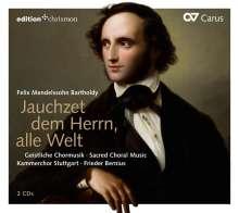 Felix Mendelssohn Bartholdy (1809-1847): Geistliche Chorwerke, 2 CDs