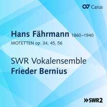 Hans Fährmann (1860-1940): Motetten, CD