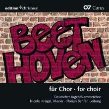 """Ludwig van Beethoven (1770-1827): Chorwerke in Bearbeitungen - """"Beethoven für Chor"""", CD"""