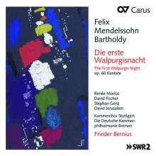 Felix Mendelssohn Bartholdy (1809-1847): Die erste Walpurgisnacht op.60, CD