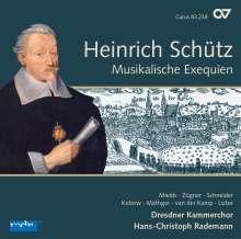 Heinrich Schütz (1585-1672): Musikalische Exequien (Carus Schütz-Edition Vol. 3), CD