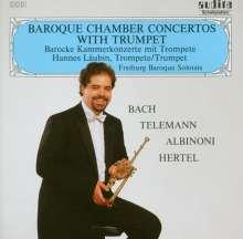Hannes Läubin - Barocke Kammerkonzerte, CD