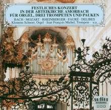 Musik f.Orgel,Trompeten & Pauken, CD