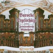Klemens Schnorr - Barocke Orgelschätze, CD