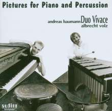 Pictures for Percussion & Piano, CD