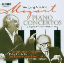 Wolfgang Amadeus Mozart (1756-1791): Klavierkonzerte Nr.21 & 24, CD