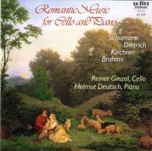 Reiner Ginzel - Romantic Music for Cello & Piano, CD
