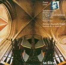 Franz Liszt (1811-1886): Sinfonische Dichtungen in Orgeltranskriptionen, CD