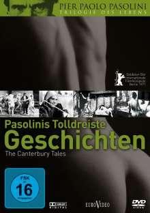 Pasolinis tolldreiste Geschichten (Canterbury Tales), DVD