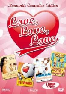 Love, Love, Love - Vier romantische Komödien, DVD
