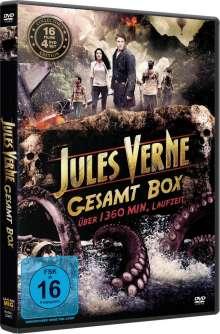 Jules Verne Gesamtbox (16 Filme auf 4 DVDs), 4 DVDs
