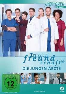 In aller Freundschaft - Die jungen Ärzte Staffel 4 (Folgen 127-144), 6 DVDs