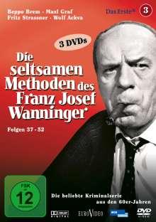 Die seltsamen Methoden des Franz Josef Wanninger Teil 3, 3 DVDs