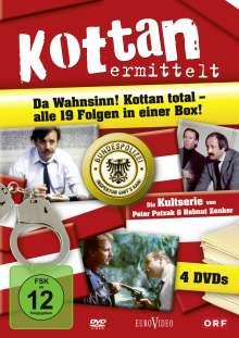 Kottan ermittelt (Komplette Serie), 4 DVDs