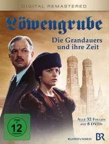Löwengrube - Die Grandauers und ihre Zeit (Komplette Serie), 8 DVDs