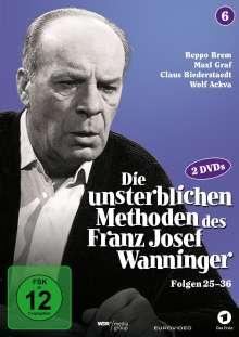 Die unsterblichen Methoden des Franz Josef Wanninger Teil 6, 2 DVDs