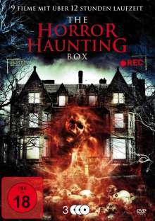 The Horror Haunting Box (9 Filme auf 3 DVDs), 3 DVDs
