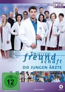 In aller Freundschaft - Die jungen Ärzte Staffel 1 (Folgen 22-42), 7 DVDs