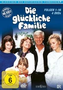 Die glückliche Familie Box 1 (Folgen 1-16), 4 DVDs