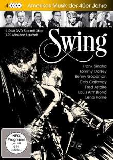 Swing - Amerikas Musik der 40er-Jahre, 4 DVDs