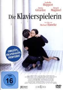 Die Klavierspielerin, DVD