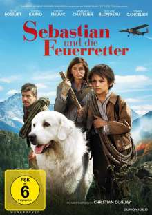 Sebastian und die Feuerretter, DVD