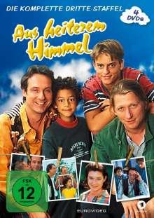 Aus heiterem Himmel Staffel 3, 4 DVDs