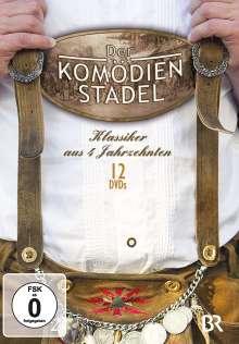 Der Komödienstadel - Klassiker aus 4 Jahrzehnten, 12 DVDs