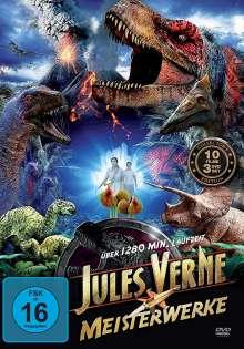 Jules Verne Meisterwerke (10 Filme auf 3 DVDs), 3 DVDs