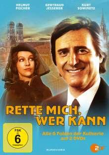 Rette mich, wer kann (Komplette Serie), 2 DVDs
